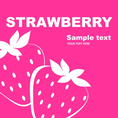 sorbet: Strawberry label