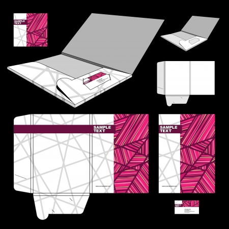 card folder: Folder design