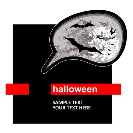Halloween background Stock Vector - 17729928