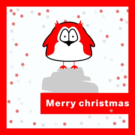 Merry christmas card  Stock Vector - 16761913