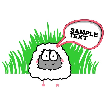 Sheep  Stock Vector - 16761880