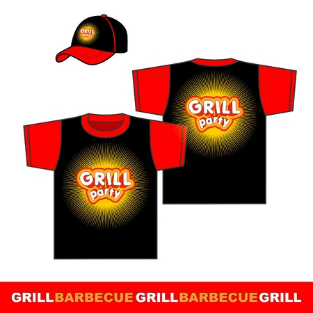 Gril party shirt design  Vector