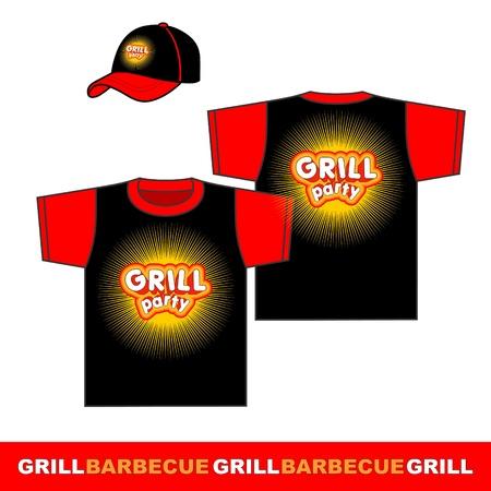 gril: Gril party shirt design