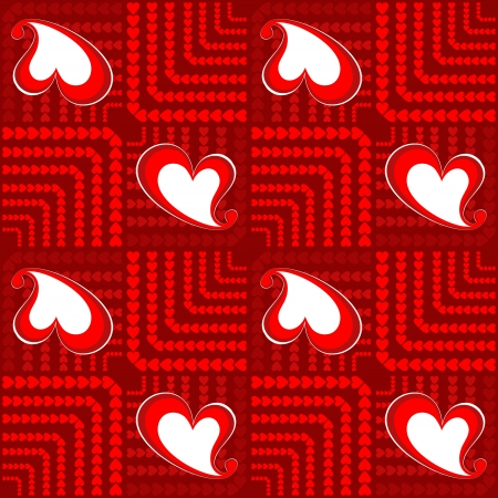 packing tape: Valentine seamless background