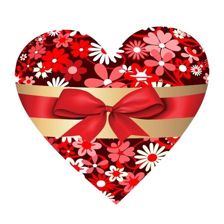 beautifu: Valentine heart  Illustration