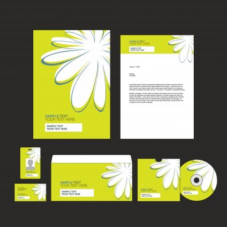 presentation folder: identity template