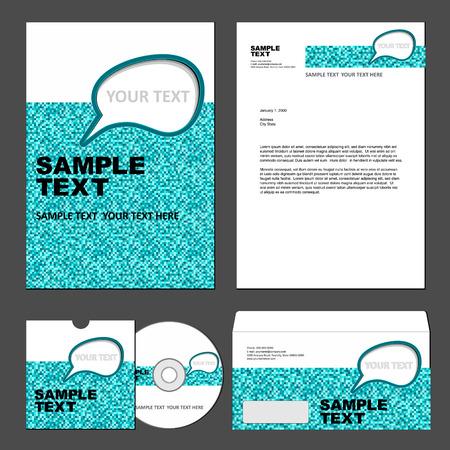 identity template Vector