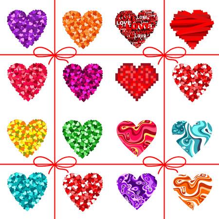 valentin: Valentine hearts Illustration