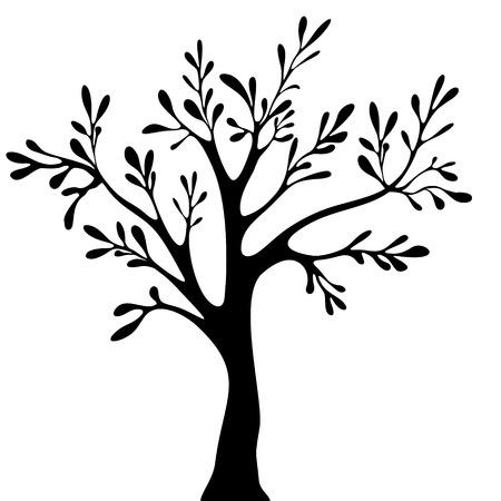 bareness: tree vector