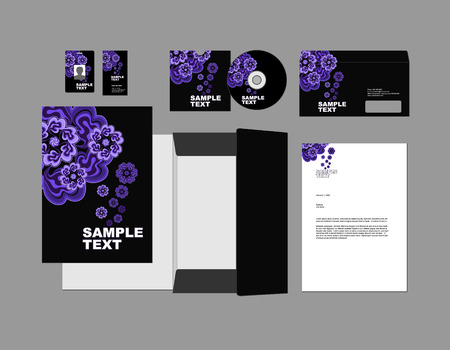 headed: Template for Business artworks