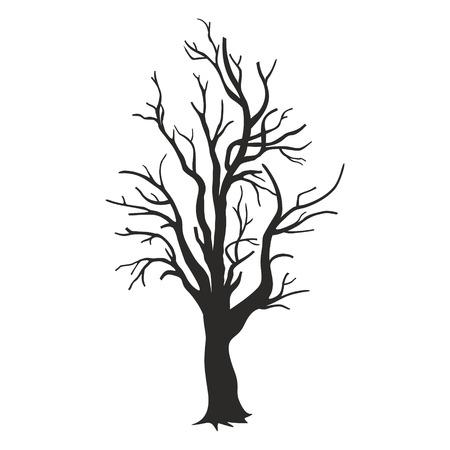 deciduous: vector tree