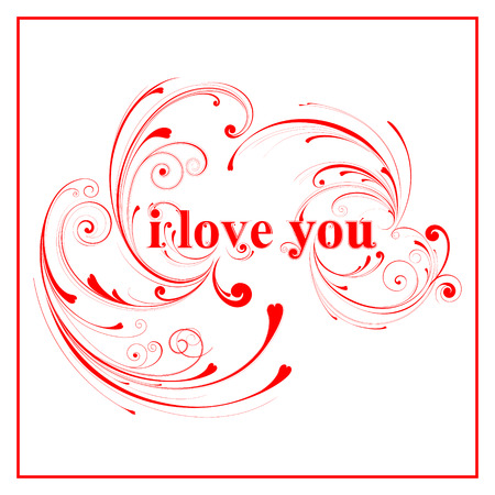 i love you sign: Pink I love you sign