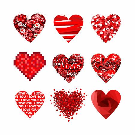esp cards: valentines heart