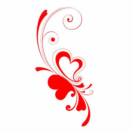 Valentine hearts.