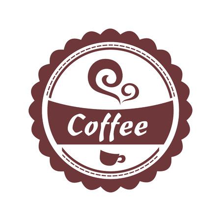vanilla pudding: Dise�o del caf�. Vectores