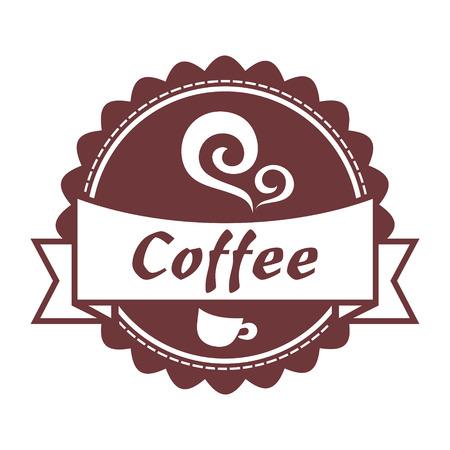vanilla pudding: Caf� etiqueta Vectores