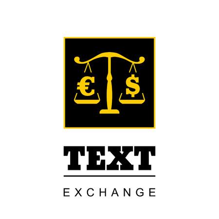 femida: Exchange symbol Illustration