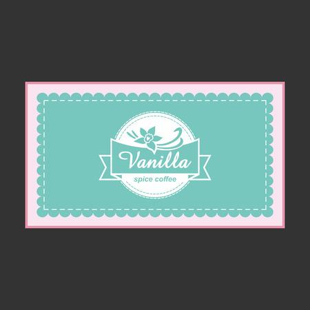 vanilla pudding: Vanilla tarjetas de dise�o.