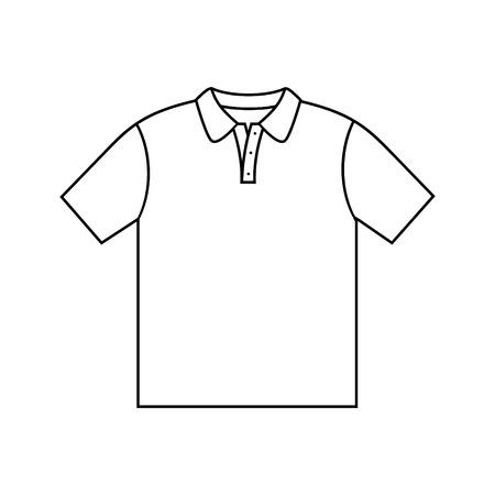 Shirt men design. Vector