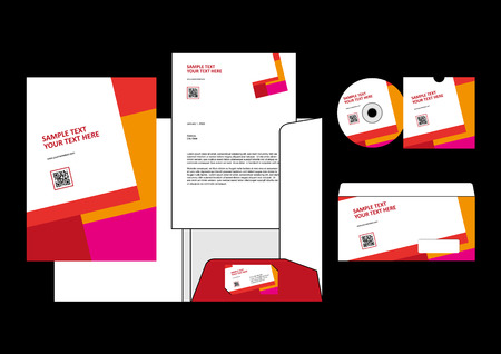 letter head: Template for Business artworks.