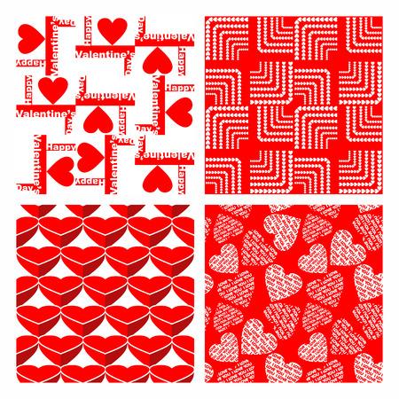 trendy tissue: valentines day background Illustration