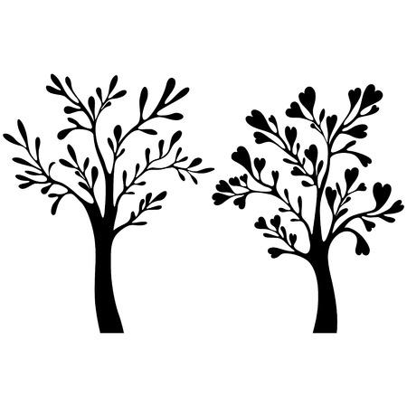 bareness: Vector tree set