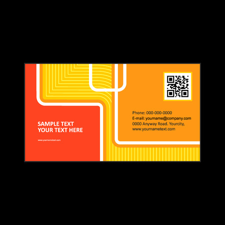 business card: corporate business card