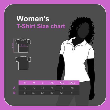 size: tshirt vector.