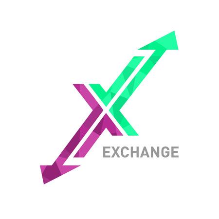 Vector Letter X Logo pictogram ontwerpelementen sjabloon.