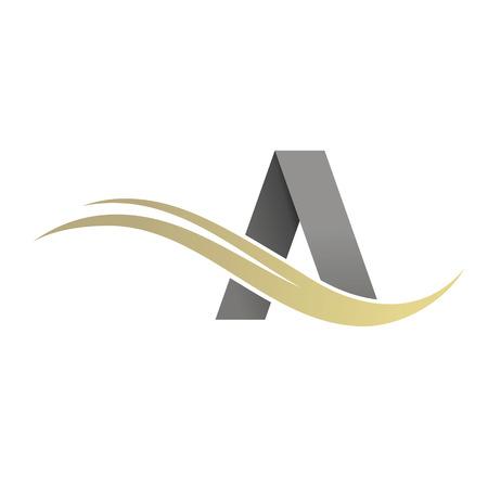Carta de Negocios Corporativo Un logotipo de la plantilla de diseño. Logos