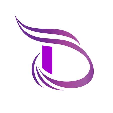 Vector Letter B Logo Icon Design Template Elements. 일러스트
