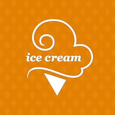 Vector Ice Cream Logo Icon Design Template Elements.