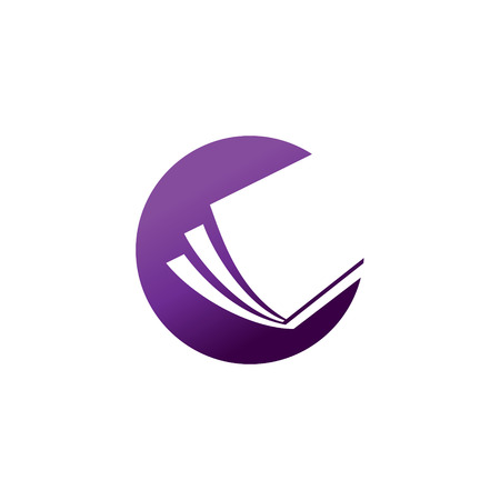 Educación Concepto de la insignia. educación abierta para el concepto de todo el mundo logo.