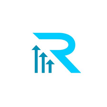 Letter R Logo Icon Design Template Elements. Vector letter symbol.
