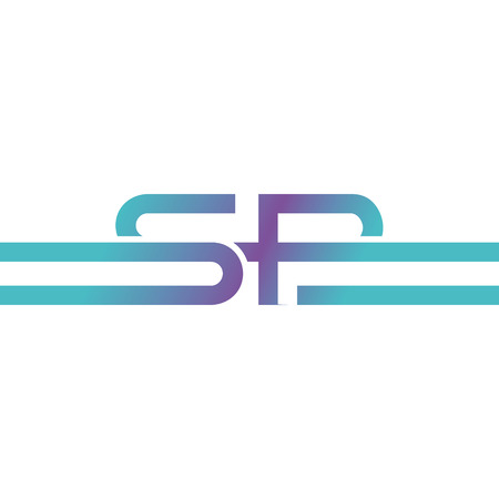 Letter R and S Logo Icon Design Template 일러스트