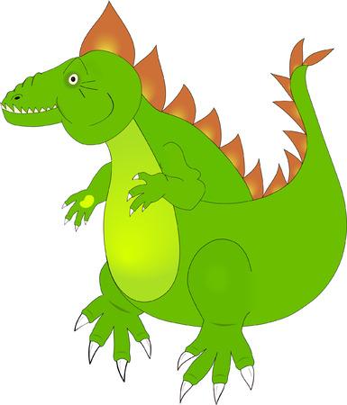 Green dragon Stock Vector - 4999420