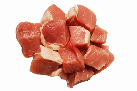 cut pork Stock Photo