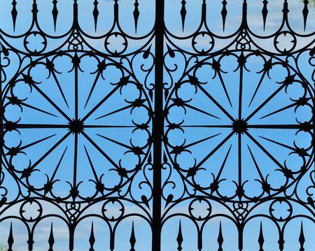 Cast-iron Fence photo