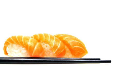 Sushi isolated on white background Stock Photo