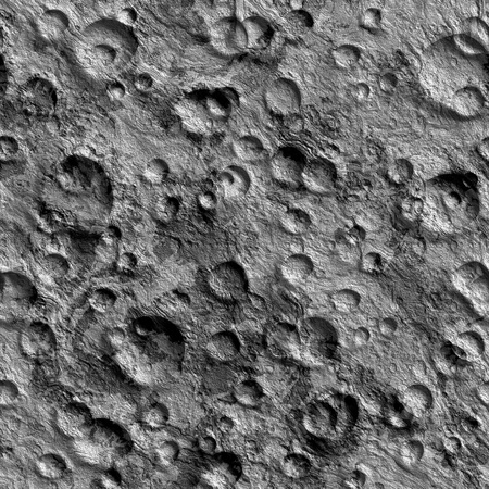 Seamless Texture surface of the moon high-resolution 25 megapixels. Texture number 19 in the collection of the author Stock Photo - 11216236
