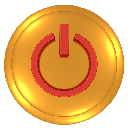 Power button Stock Photo - 11386232