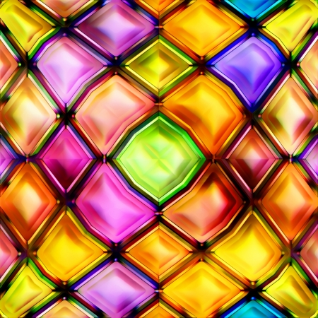 diminishing perspective: Seamless Texture abstract geometric shapes Stock Photo