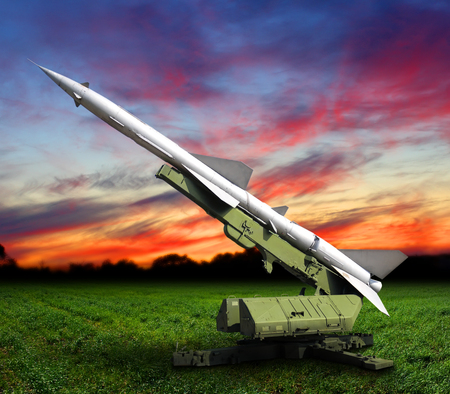 Defense missile rocket sky outdoors peace power