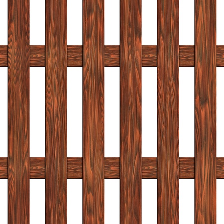knotted: A fence made of boards seamless texture wood Stock Photo