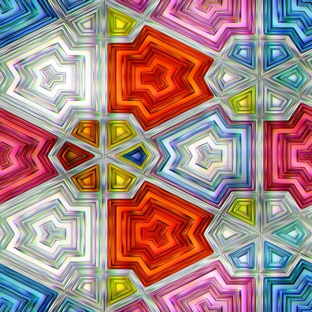 truly: colorful abstraction truly seamless texture  graphic square Stock Photo