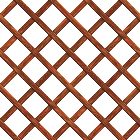 knotted: A fence made of boards seamless texture wood  3D illustration