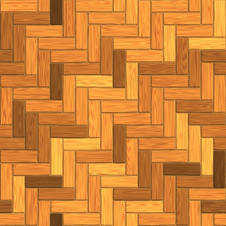 flooring: seamless texture of wooden parquet, laminate flooring 3D illustration Stock Photo