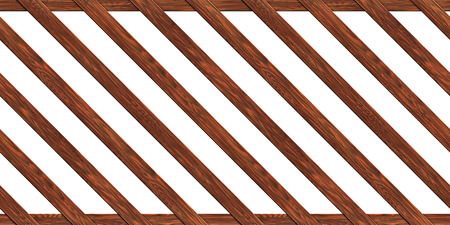 timber floor: A fence made of boards seamless texture wood  3D illustration
