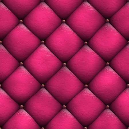 Seamless texture decoration leather upholstery sofa 2D illustration Stock Photo