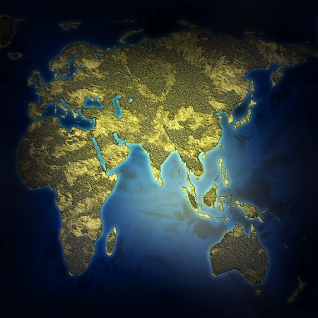 stock image: an abstract map of the earth texture stock image